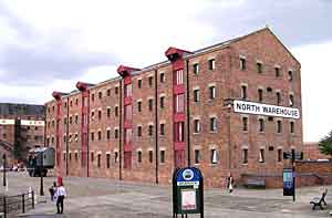 Office space in North Warehouse Gloucester docks
